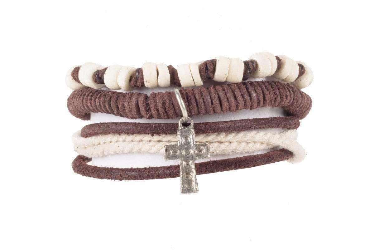 Indepal Leather ACCESSORY BRACELET - Bandy Trio