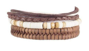 Indepal Leather ACCESSORY BRACELET - Ranger Trio