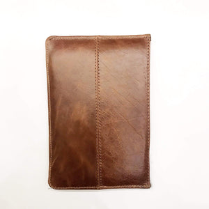 Indepal Leather ACCESSORY Cognac (Dusty Antique) Laptop Sleeve iPad Mini