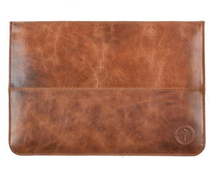 Indepal Leather ACCESSORY Laptop Sleeve 13""