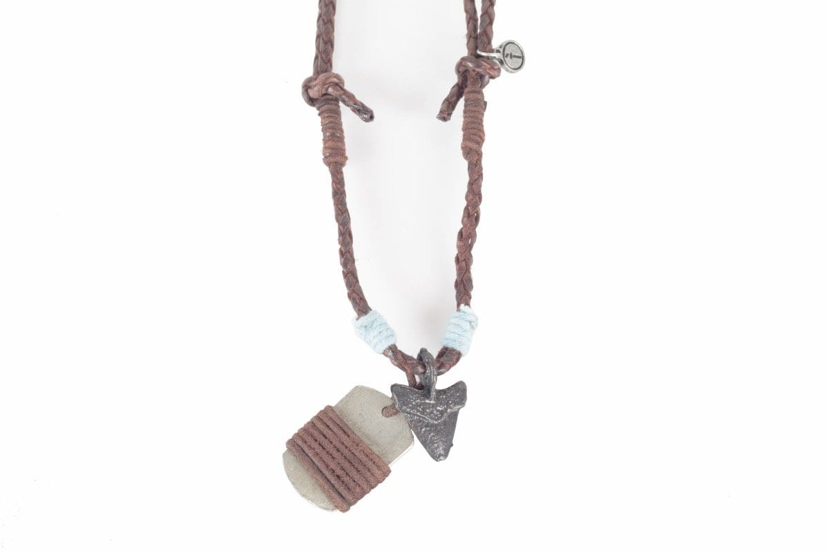 Indepal Leather ACCESSORY NECKLACE - Barb
