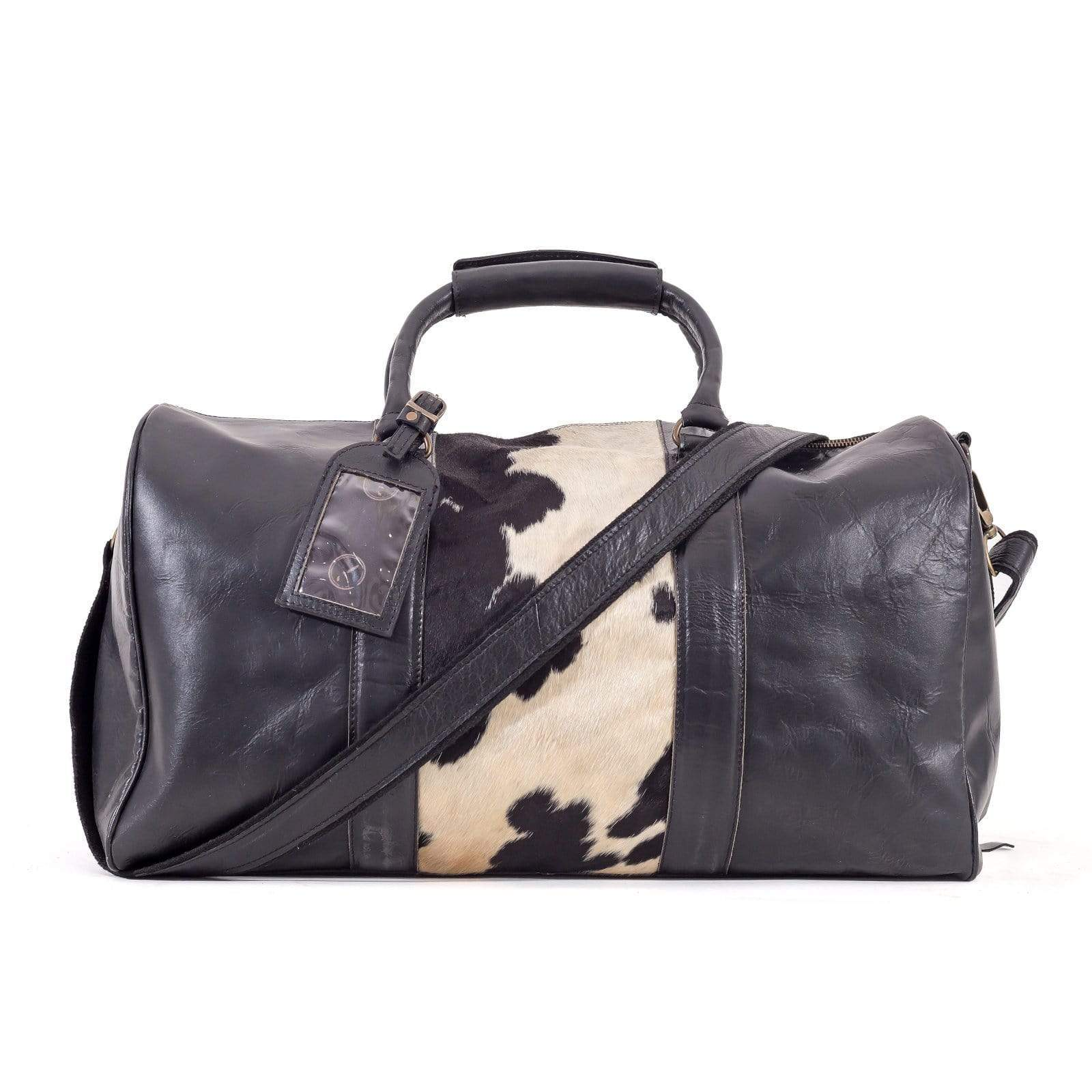 Indepal Leather BAGS Beckwith Duffle - Hide Panel