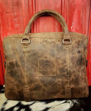 Indepal Leather BAGS CH Tan Yarra Satchel