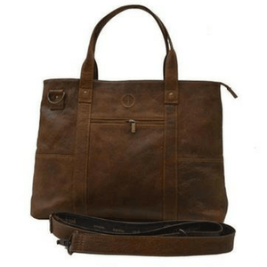 Indepal Leather BAGS Dusty Antique Jeroboam Leather Tote