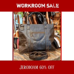 Indepal Leather BAGS Jeroboam Leather Tote