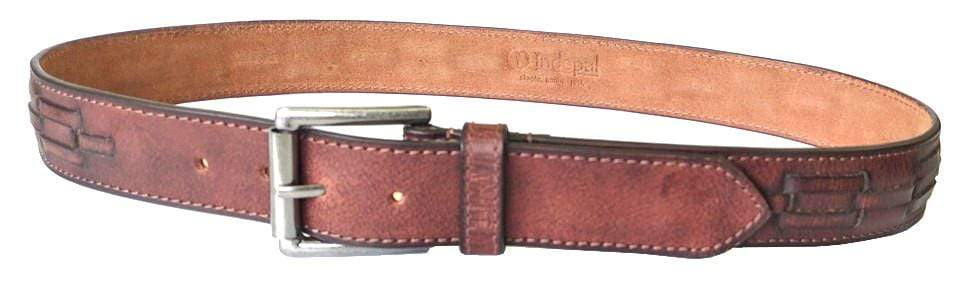 Indepal Leather BELT 32 BELT - Cobblestone