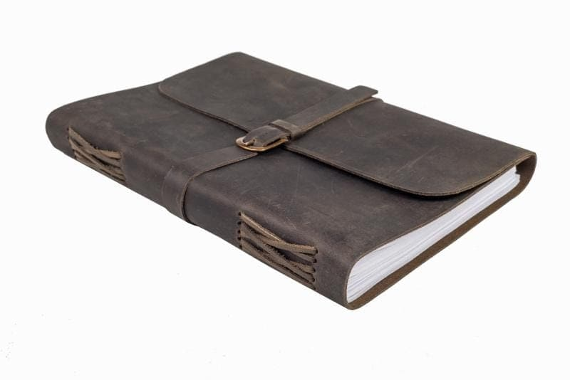 Indepal Leather JOURNAL Journal - Buckle A4-XL