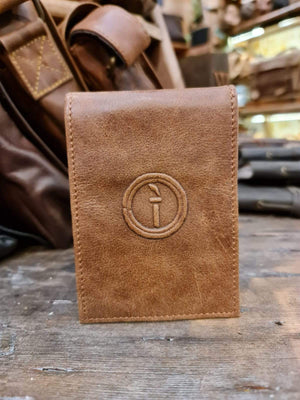 Indepal Leather JOURNAL Leather Notebook Cover - pocket book