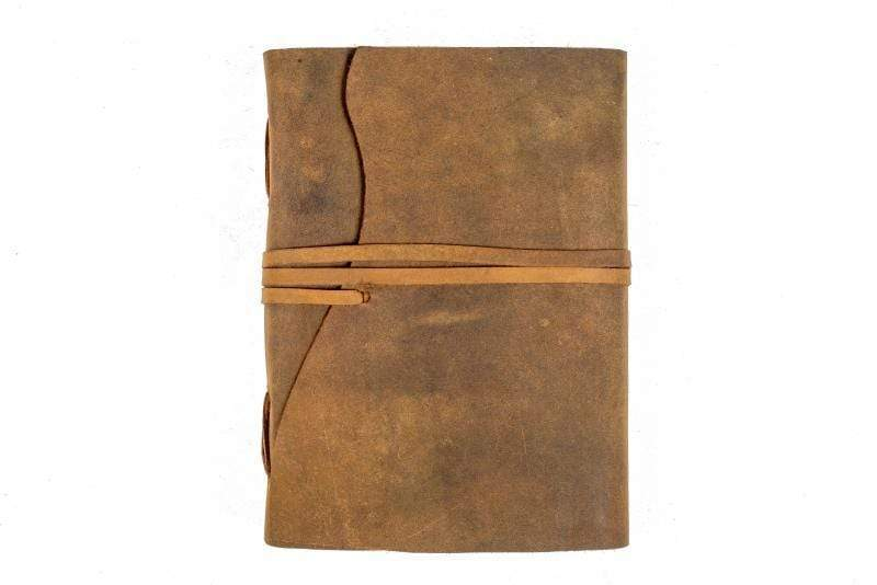 Indepal Leather JOURNAL Tan JOURNAL - Manaf  A5
