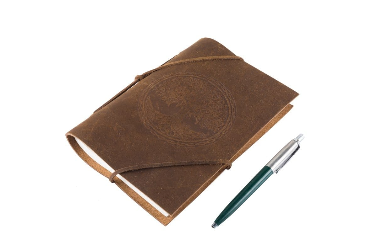 Indepal Leather JOURNAL Traveller - Tree of Life