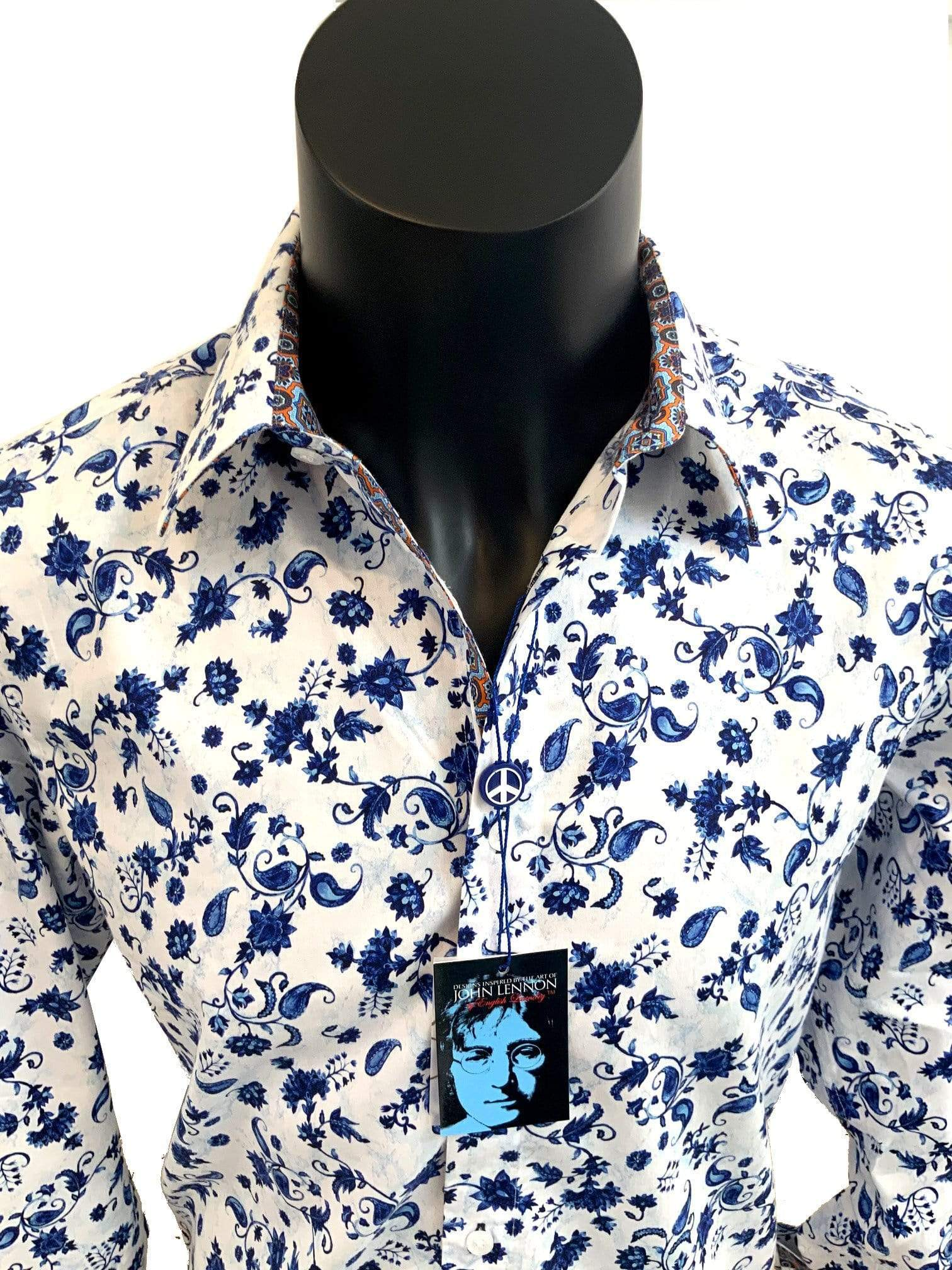 ZACAR SHIRTS ELVIS - John Lennon Shirt - JLW 6053 Long Sleeve