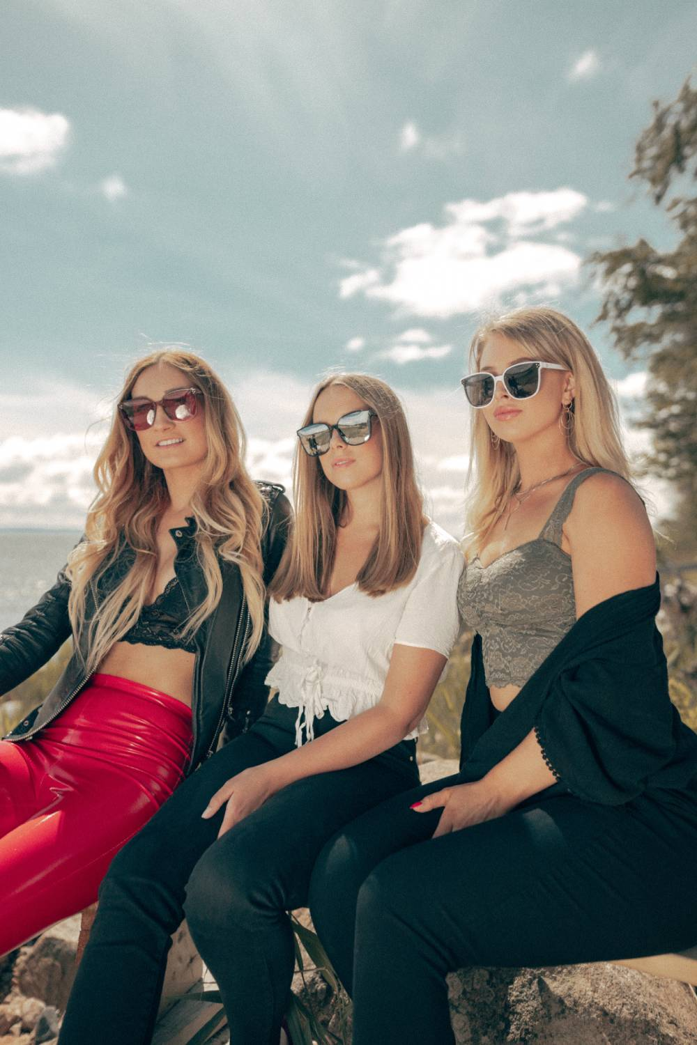 Three new models with big frames and cool lenses. Check out our new sunglasses.