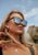 Iris Wayfarer sunglasses - Cool shoot on female model