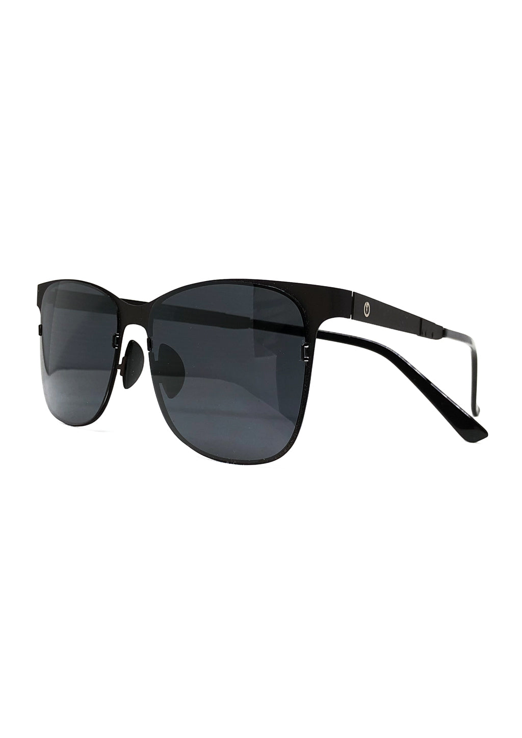 Foldable sunglasses - Rover classic wayfarer design - Photo from the side
