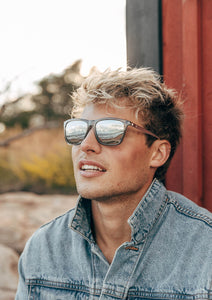 Soho Wayfarer sunglasses - On male model