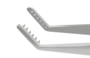 402R 4-131S Jameson Muscle Forceps, Right, 6 teeth, Slide Lock, Length 100 mm, Stainless Steel