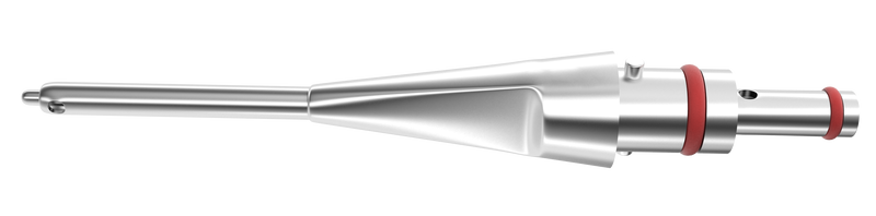 442R 7-080/ST Straight I/A Tip , Stainless Steel