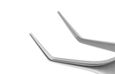 178R 4-091S Kelman-McPherson Tying Forceps, Angled Shafts, With 8.00 mm Tying Platform, Length 84 mm, Stainless Steel