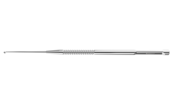999R 16-063S Meyerhoefer Chalazion Curette, Size 0-1.50 mm, Length 135 mm, Round Handle, Stainless Steel
