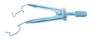 202R 14-0401TL Lieberman Temporal Speculum, Flatten Blades, Specially Designed For LASIK, Length 76 mm, Titanium