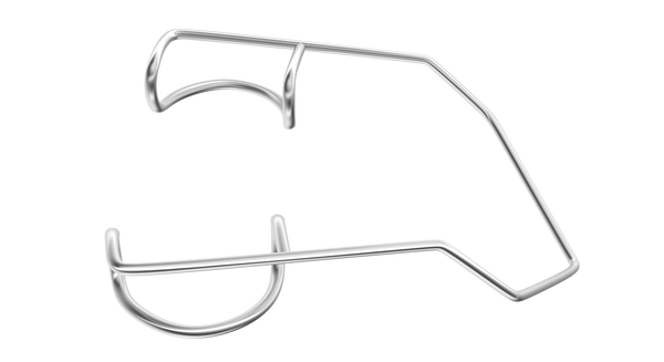 567R 14-024S Barraquer Wire Speculum, Infant Size, 10.00 mm Blades, Length 40 mm, Stainless Steel