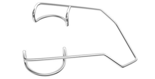 657R 14-022D Disposable Barraquer Wire Speculum, Adult Size, 6 Per Box