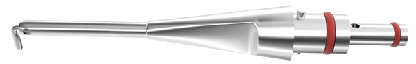 389R 7-080/90 I/A Tip, Angled 90°, Stainless Steel