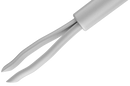 798R 12-420-25H Asymmetrical End Grasping Forceps, Attached To A Universal Handle, with a Flushing System, 25 Ga