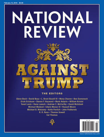 "The Famous ""Against Trump"" Issue"