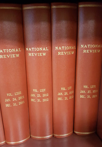 Bound Volumes of National Review