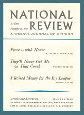 50th Anniversary Replica Edition of National Review's 1955 Premier Issue