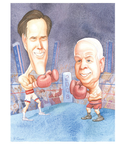 McCain v. Romney (Ready to Rumble)