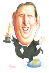 Al Gore on Oscar night