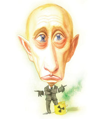 A picture of Putin