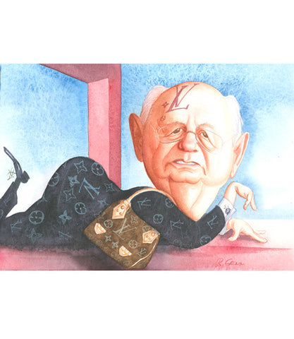 A picture of Mikhail Gorbachev