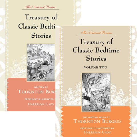 <I>The National Review Treasury of Classic Bedtime Stories</I>, Two-Book Set