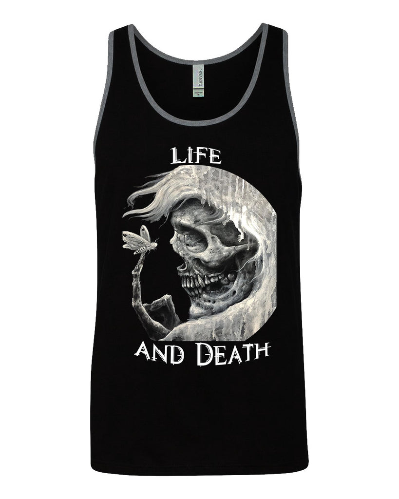 Life and Death mens tank