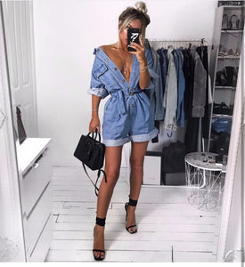 Tara Denim Jumpsuit