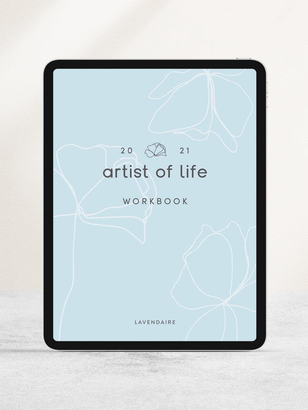 2021 Artist of Life Workbook (Digital)