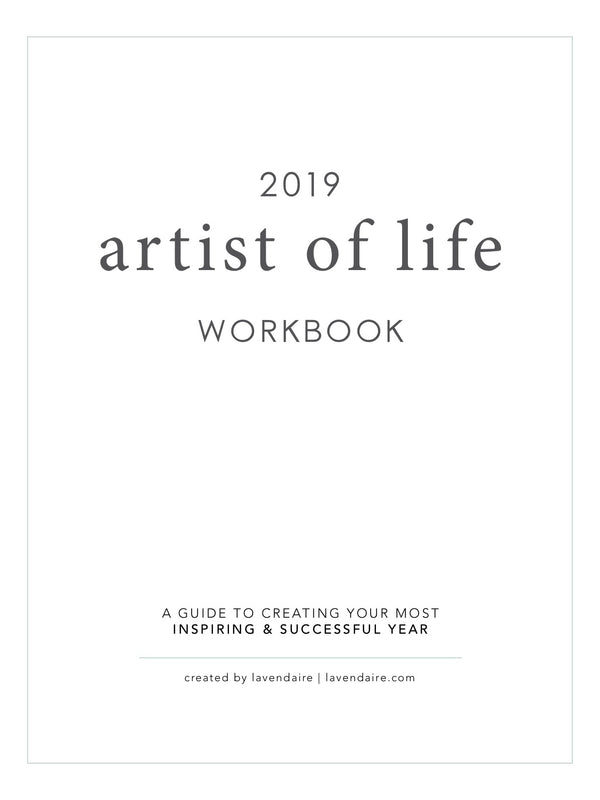 2019 Artist of Life Workbook (Digital)