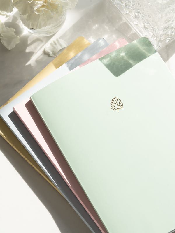 Pastel Notebooks (Set of 4)