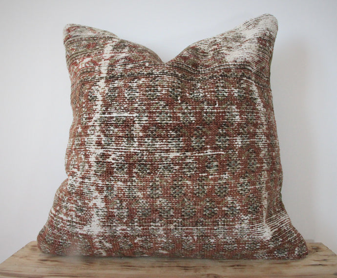 20x20 - Antique Persian Pillow Cover 21