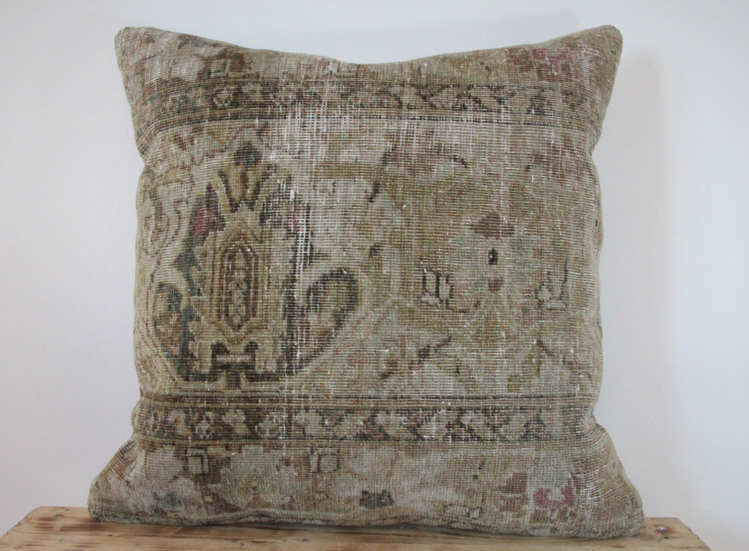20x20 - Antique Persian Pillow Cover 18