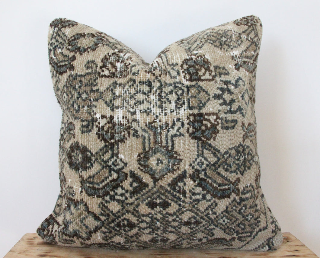 20x20 - Antique Persian Pillow Cover 24