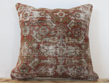 Load image into Gallery viewer, 18x18 - Antique Persian Pillow Cover 2