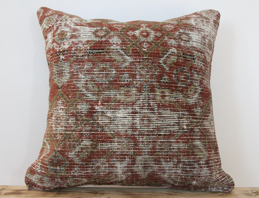 18x18 - Antique Persian Pillow Cover 2