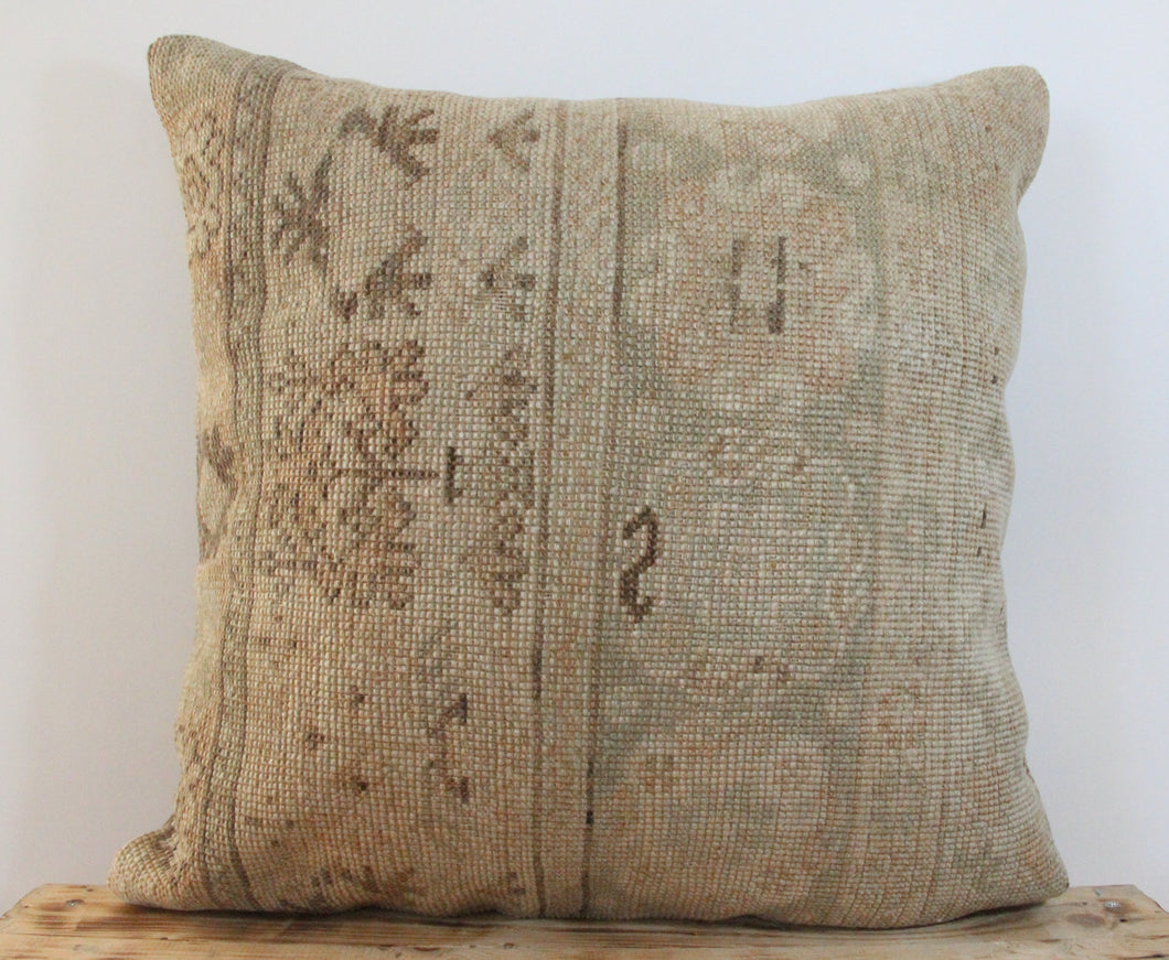 20x20 Antique Persian Pillow Cover 10