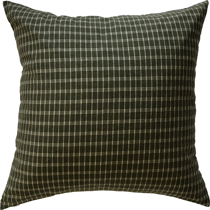 Hunter Plaid Pillow Cover