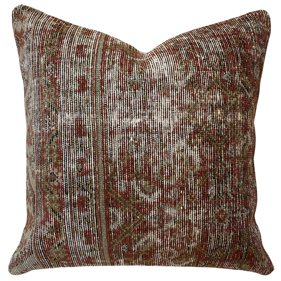 20x20 - Vintage Persian Pillow Cover 19