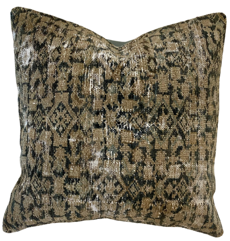 24x24- Vintage Pillow Cover 31